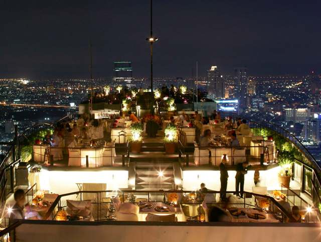 Vertigo, Hotel Banyan Tree bangkok