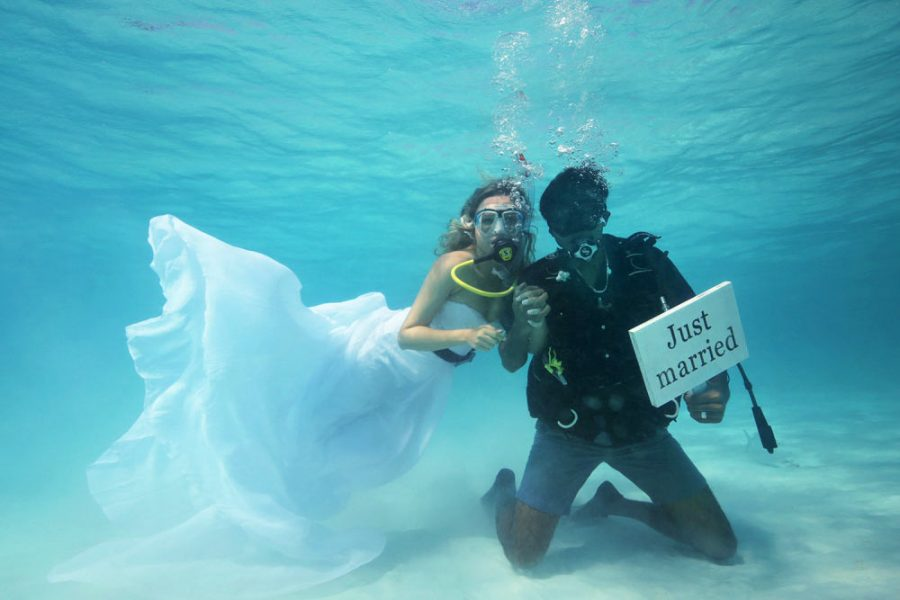 Underwater Wedding Ceremony 2017