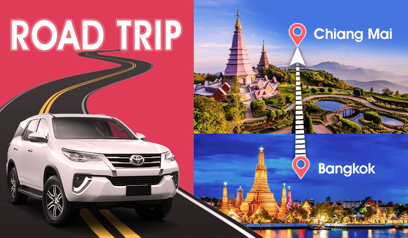 Bangkok to Chiang Mai - 4 Day Road Trip