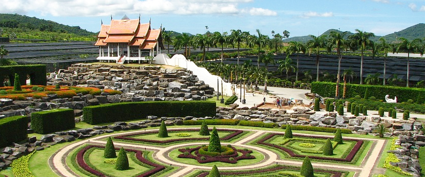 Wander through the Nong Nooch Tropical Botanical Garden